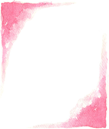 pink painted borders