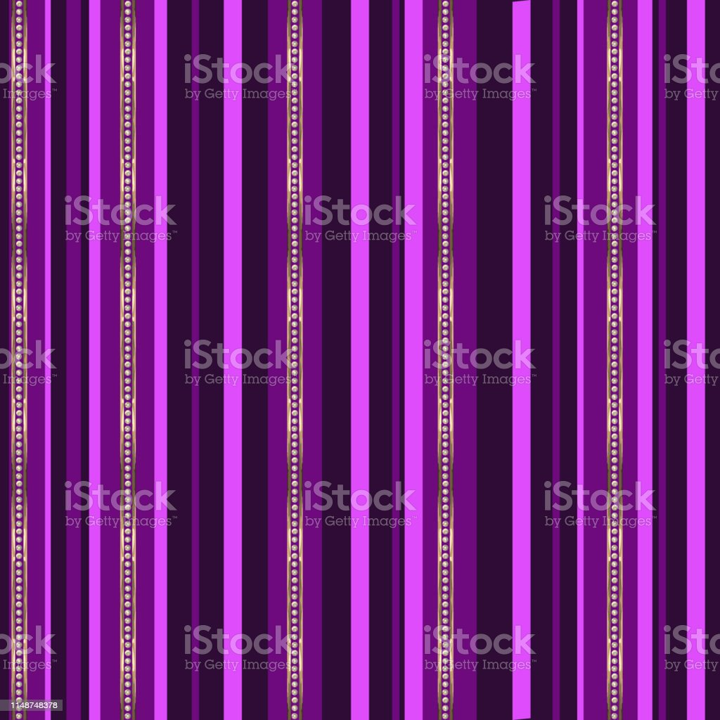 Jewelry striped vector seamless pattern. Template for design,...