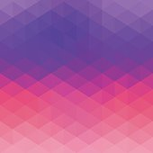 Pink purple hexagon abstract background. JPG and Aics3 files are included.