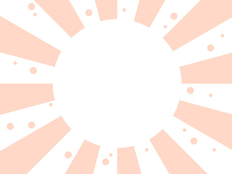 Pink radial background