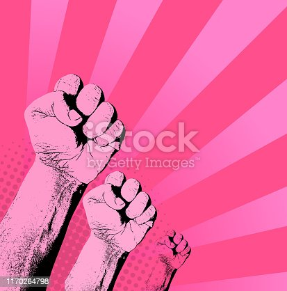 pink revolution breast cancer awareness background