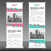 roll up banner template, Vertical banner design, poster, advertisement layout, pull up, stand out, display design, presentation layout