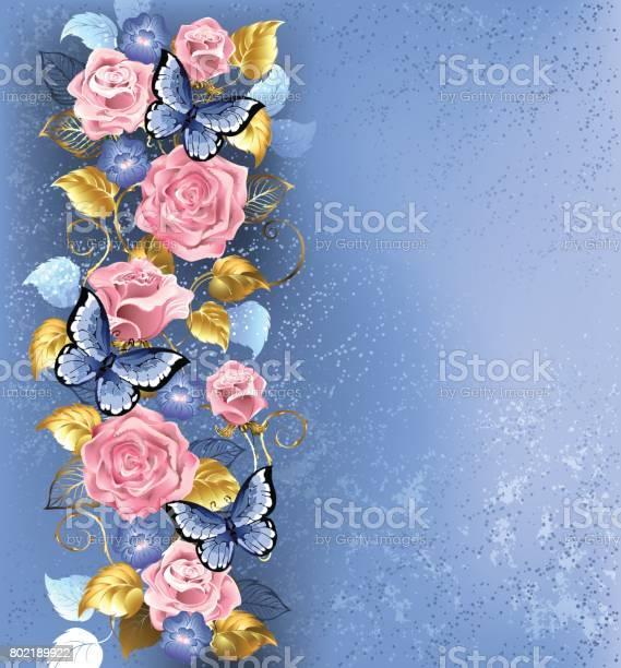 Pink roses and butterflies vector id802189922?b=1&k=6&m=802189922&s=612x612&h=vzqg5ifcjbpevk9yfioecenptxdv3gjibdrov1lrxhm=