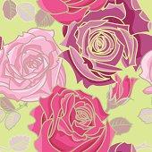 Pink Roses (Pattern)