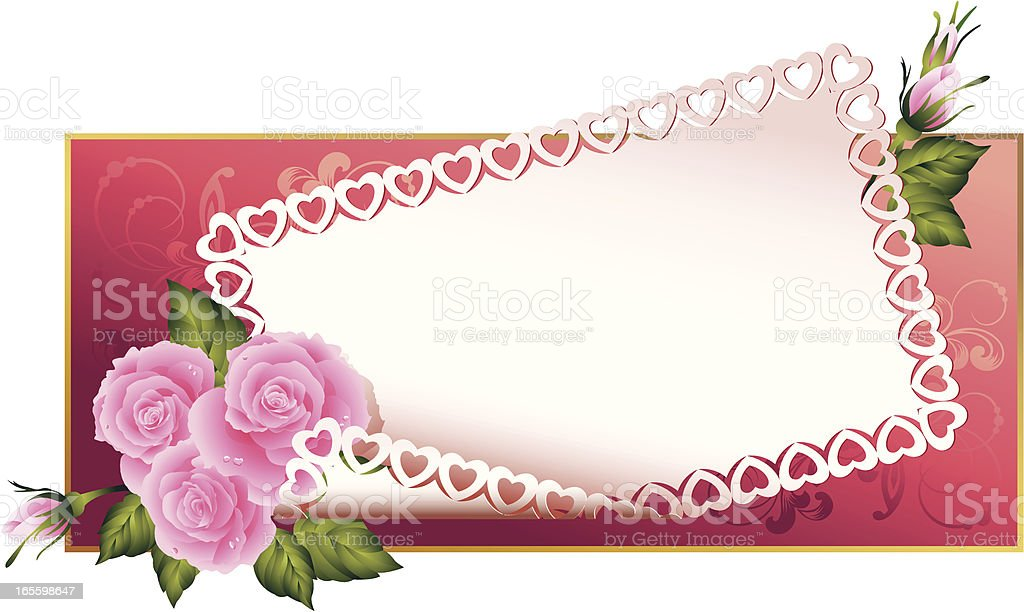 Pink roses royalty-free pink roses stock vector art & more images of art and craft