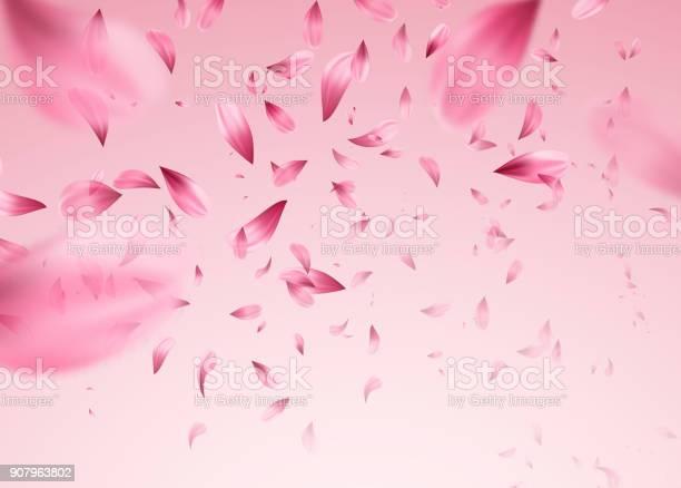 Pink sakura falling petals background vector illustration vector id907963802?b=1&k=6&m=907963802&s=612x612&h=zgbxjxov yzadepzsxqsqgucex1ek0je4q0c1kwm7qa=
