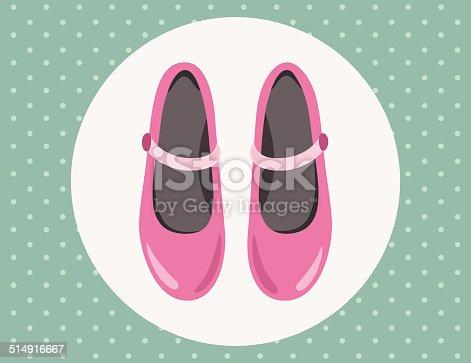 istock Pink sandals 514916667