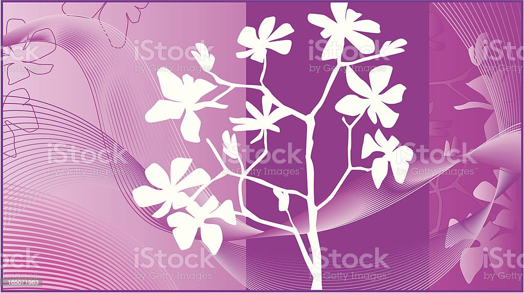 Pink spring royalty-free stock vector art