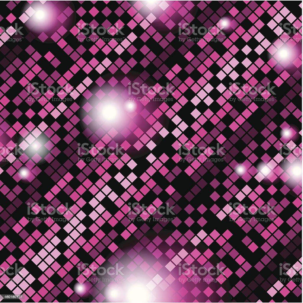 Fondo rosa Square - ilustración de arte vectorial