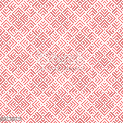 pink squares and triangles. vector seamless pattern.  geometric repetitive background. fabric swatch. wrapping paper. continuous print. design element for home decor, apparel, textile, phone case