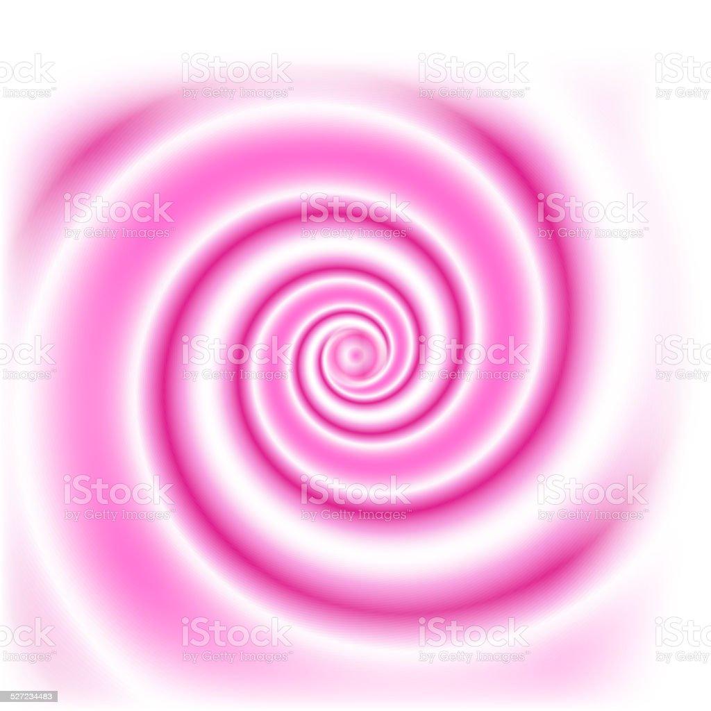 Swirl pink clips