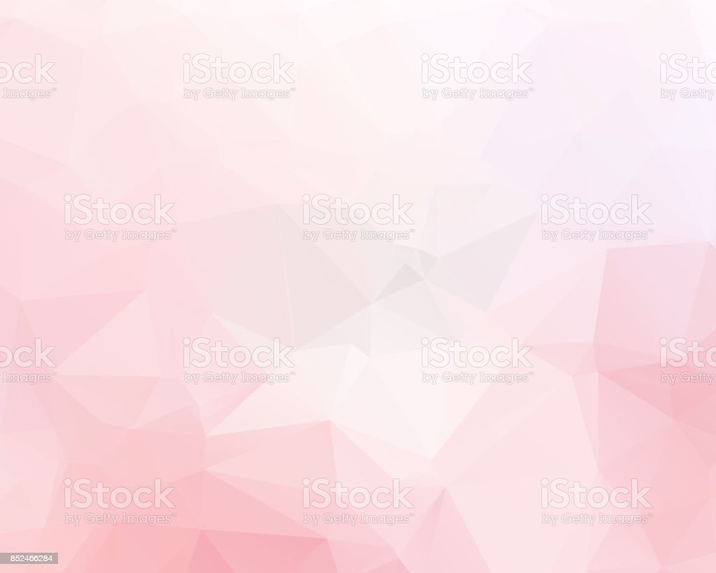 Pink triangle background design. Geometric background in Origami style with gradient. vector art illustration
