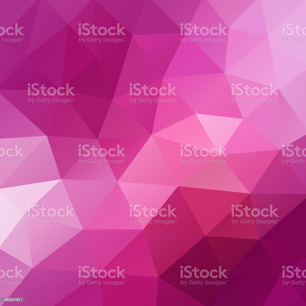 A pink triangular abstract design background royalty-free a pink triangular abstract design background stock vector art & more images of abstract