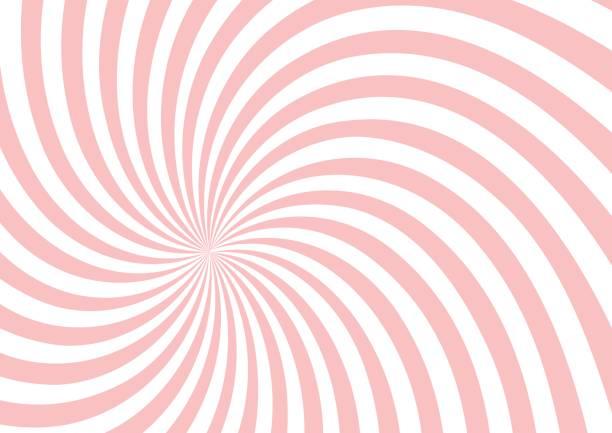 розовый твист формы шаблон фона - закрученный stock illustrations