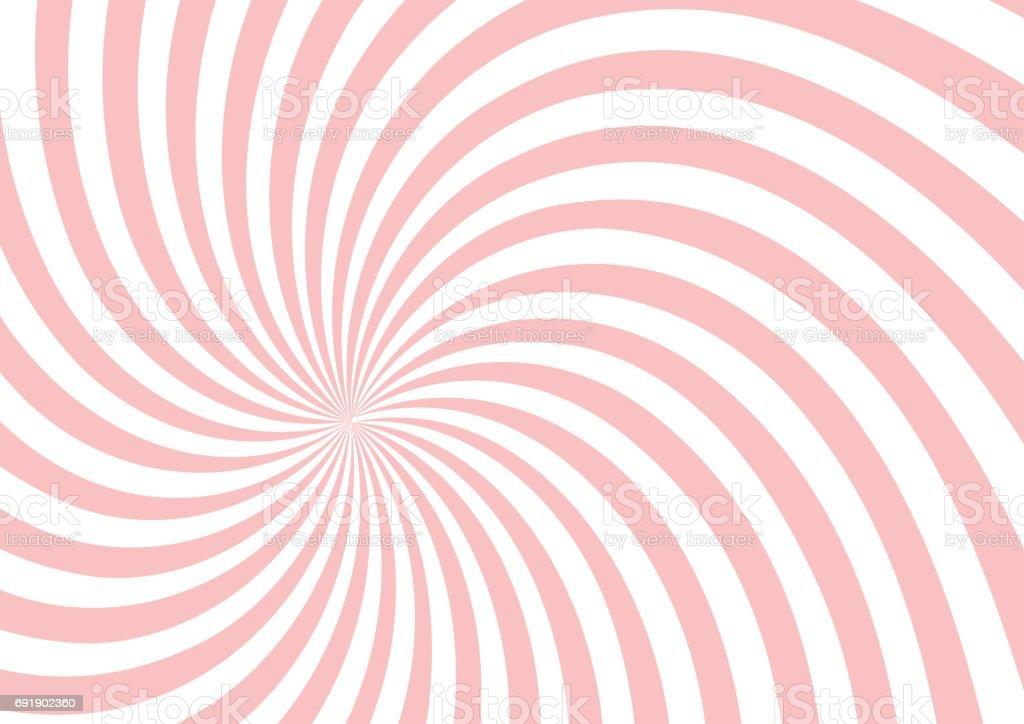 de fond forme twist rose - Illustration vectorielle