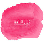 pink watercolor texture stain background