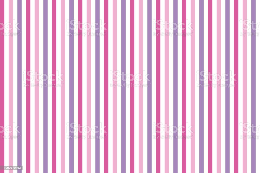 Pink White And Lilac Stripes Background Stock Vector Art More