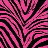 pink zebra fur