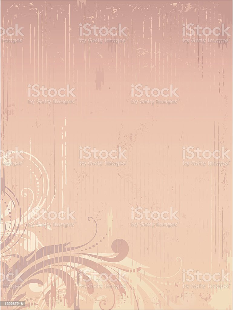pink_vintage_background royalty-free stock vector art