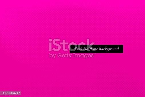 pink half tone patterned background