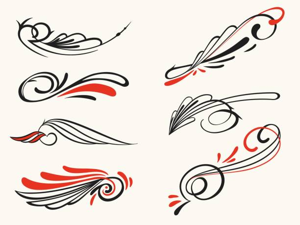 53 Pinstriping Designs Illustrations Royalty Free Vector Graphics Clip Art Istock