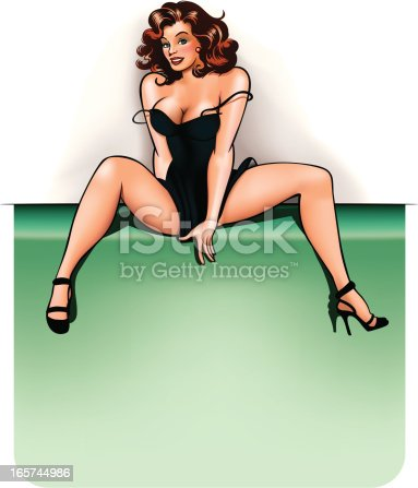 istock pin-up with copy space 165744986