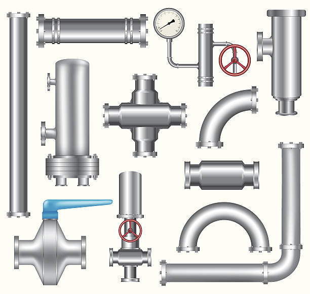 パイプラインの要素 - 配管工点のイラスト素材/クリップアート素材/マンガ素材/アイコン素材