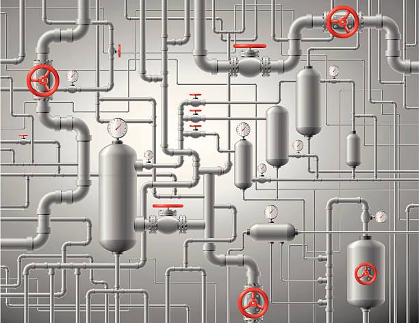 przewody tle - tap water stock illustrations