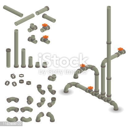 26.57° isometric water pipes - do it yourself
