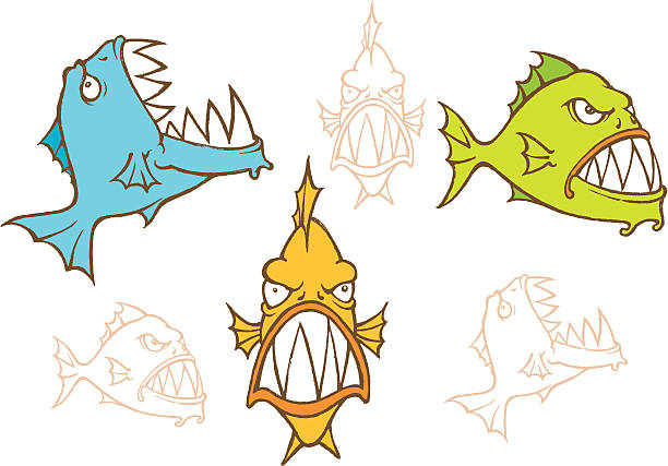 Vectores de Piraña y Illustraciones Libre de Derechos - iStock
