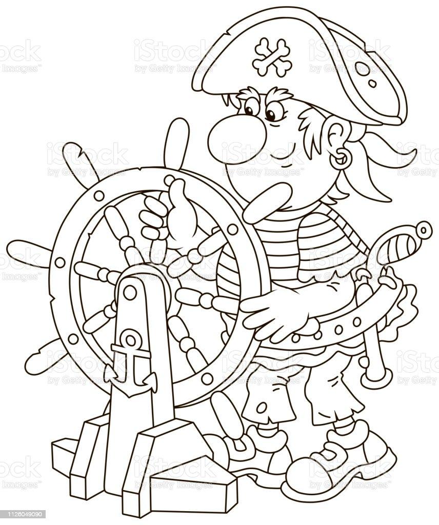 piratenschiff zum ausmalen  malvorlagen