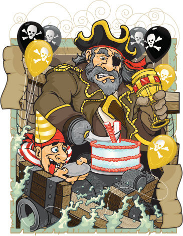Pirate Birthday Party