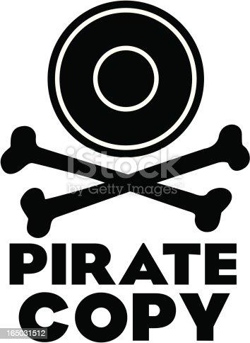 Pirate Copy Logo