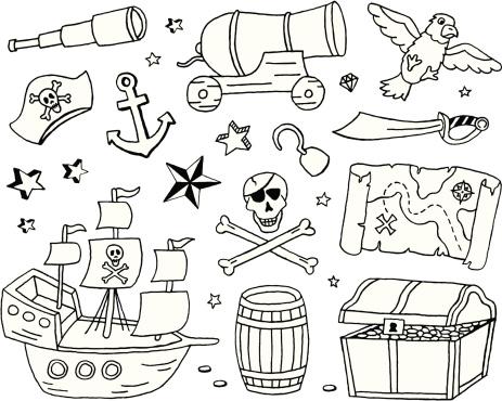 Pirate Doodles