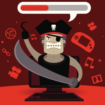 Pirata informático de descarga