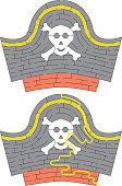 Pirate hat maze