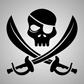 Pirate Icon Clip Art