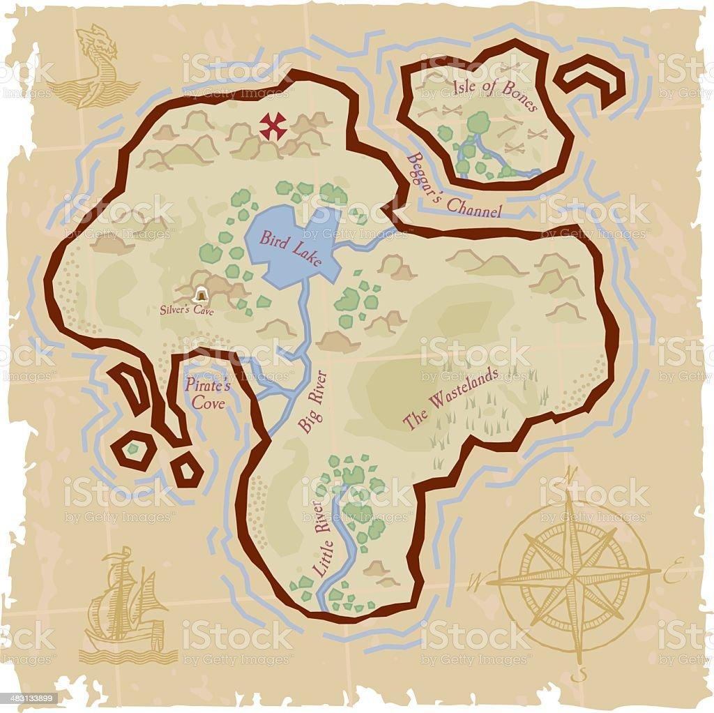 Carte De Pirate Vecteurs Libres De Droits Et Plus D Images Vectorielles De Aventure Istock