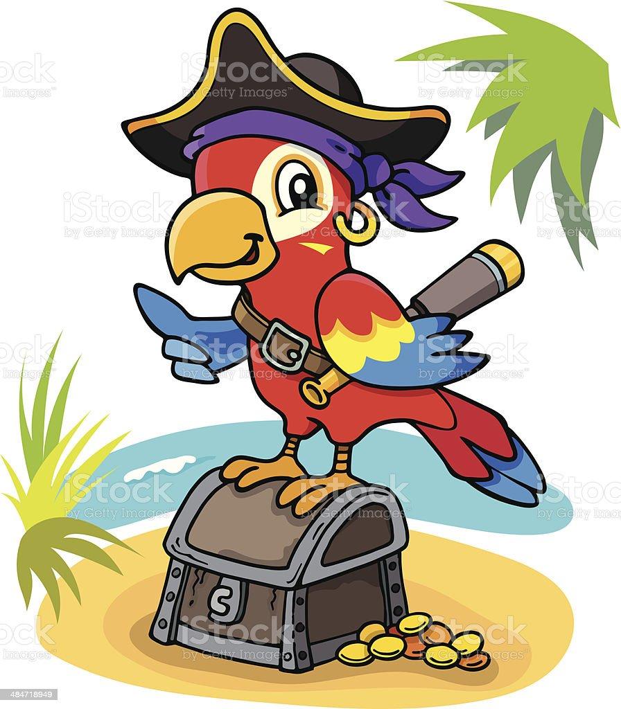 pirate parrot stock vector art 484718949 istock