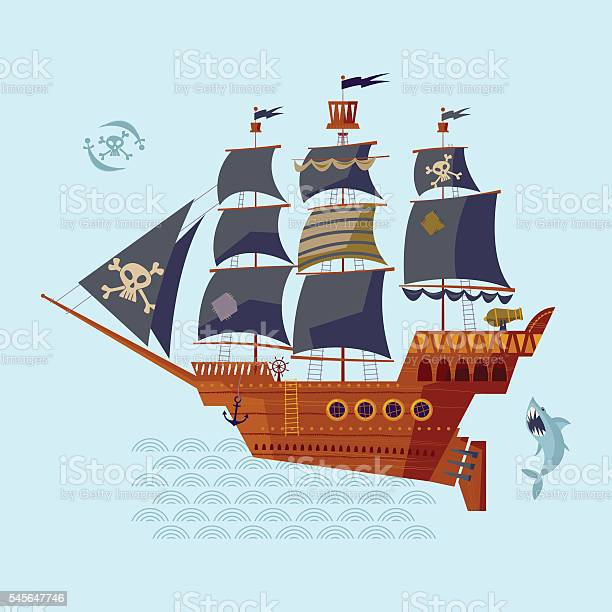 Pirate ship nautical collection vector id545647746?b=1&k=6&m=545647746&s=612x612&h=qc3heijflllztpdz uzktkqmmkelyx4bdk7ej 81jl0=