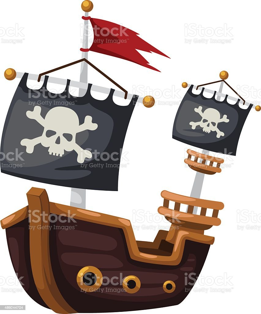 royalty free pirate ship clip art vector images illustrations rh istockphoto com pirate ship clip art free pirate ship clip art free