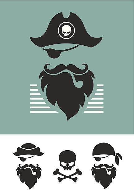 pirate - pirates stock illustrations, clip art, cartoons, & icons