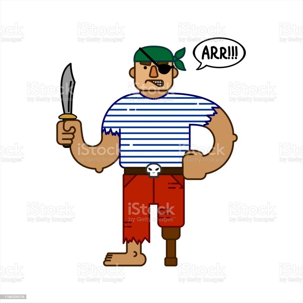 JHFVB Mod/èle de Personnage de Pirate des Cara/ïbes