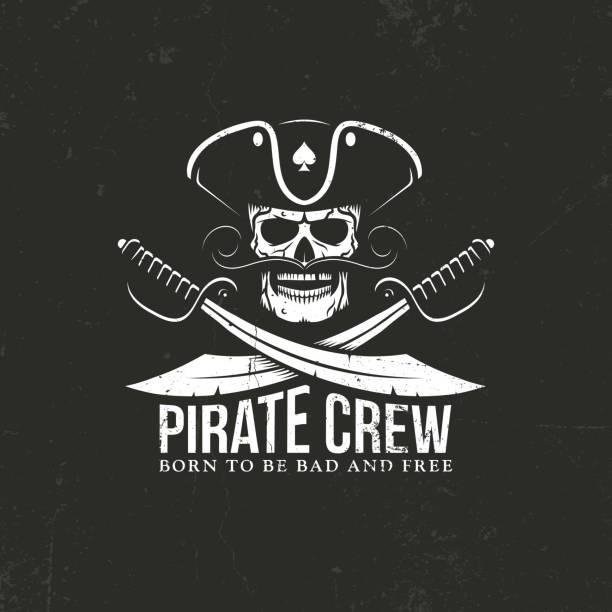 pirates crew - pirates stock illustrations, clip art, cartoons, & icons