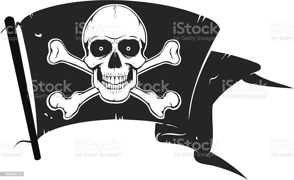 Pirates Flag royalty-free pirates flag stock vector art & more images of animal body part