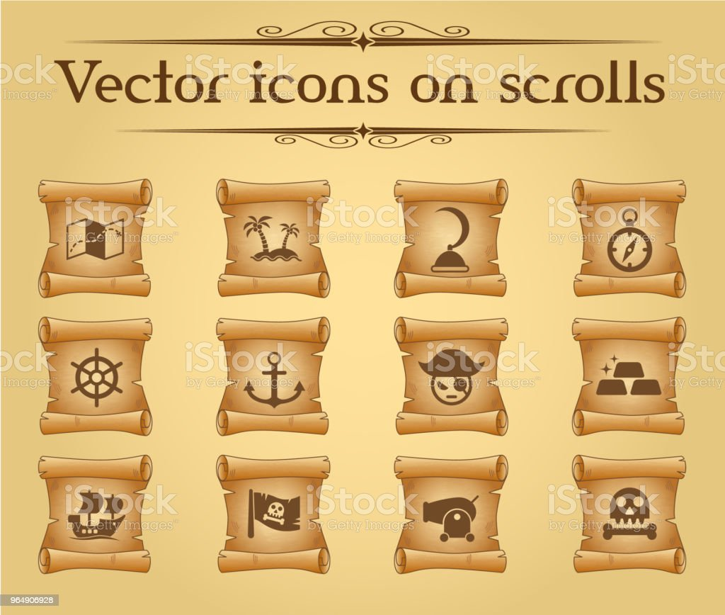 pirates icon set royalty-free pirates icon set stock vector art & more images of anchor - athlete