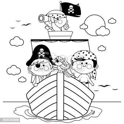 istock Kid personaje de historieta de pirata 492891220 istock Piratas ...