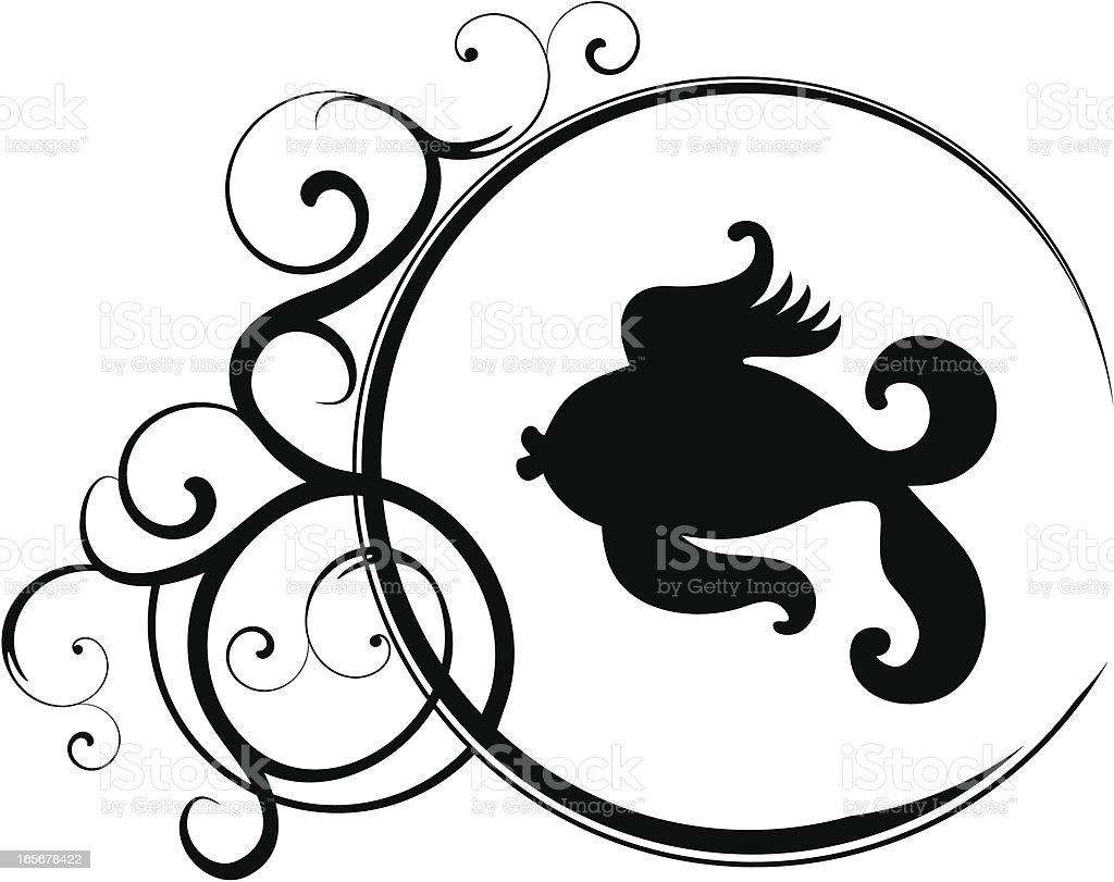 Pisces royalty-free stock vector art