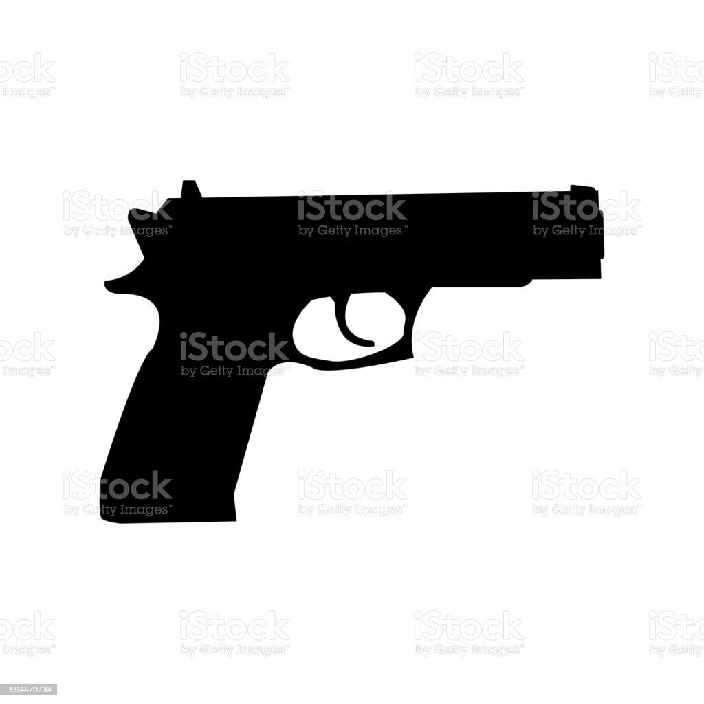 pistol gun simple vector icon stock illustration download image now istock pistol gun simple vector icon stock illustration download image now istock