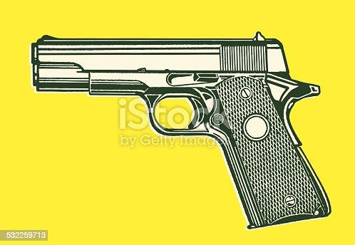 istock Pistol Handgun 532259713
